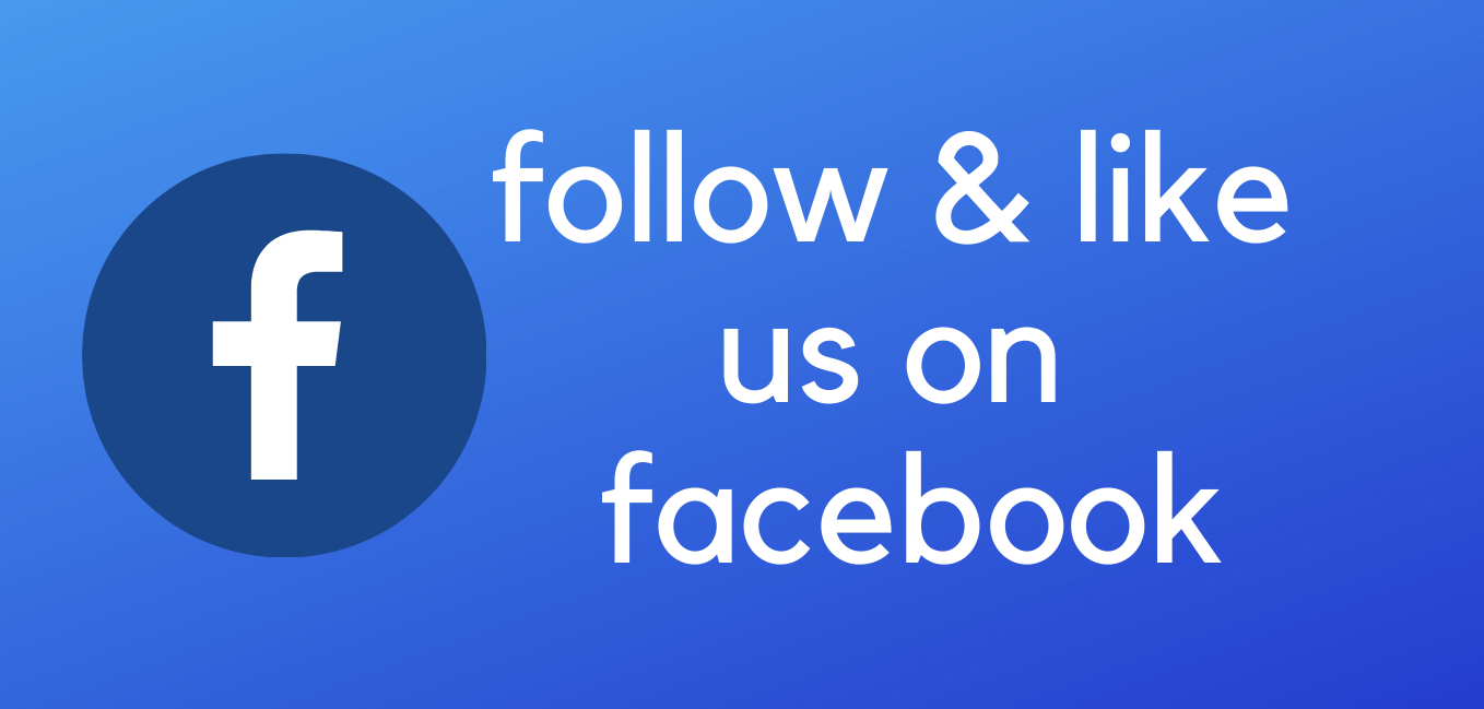 follow & like us on facebook